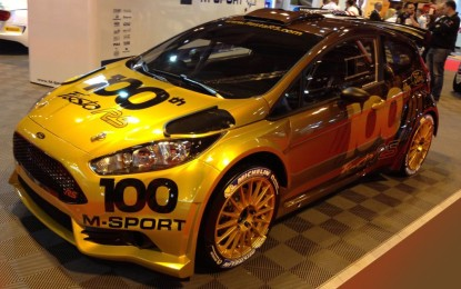 M-SPORT'S 100TH FORD FIESTA R5