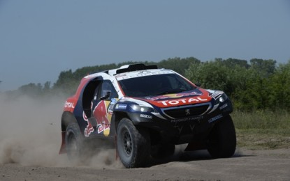 Mixed emotions for Team Peugeot Total @Dakar