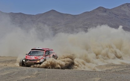 Trouble free Dakar Day for Dessoude!