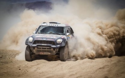 Nasser Al-Attiyah triumphs Dakar '15 in the MINI ALL4 Racing
