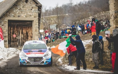 BREEN STORMS THROUGH THE SNOW FOR LATVIA ERC GOLD
