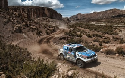 Dakar SS12 with YPF Competicion Ford Ranger
