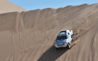 Dakar 2015: SS5 YPF Ford Ranger loses time