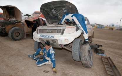 Rest day for YPF Competicion Ford Ranger on Dakar