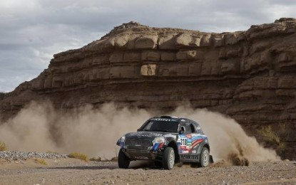 5th stage win for MINI at 2015 Dakar Rally as Vasilyev claims victory