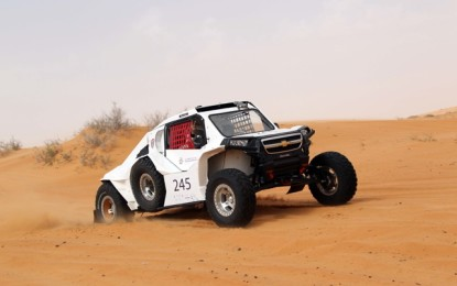 HA'IL INTERNATIONAL CROSS-COUNTRY RALLY: March 19/22, 2015