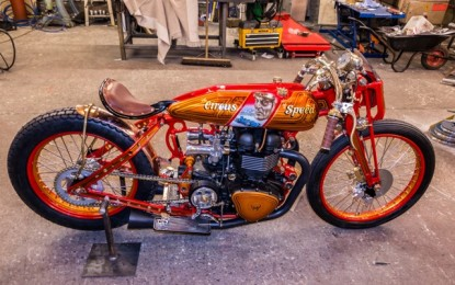 Irish Custom Bike Building World Champion Returns