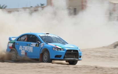 FIA Middle East Rally Championship, round 2 – Kuwait