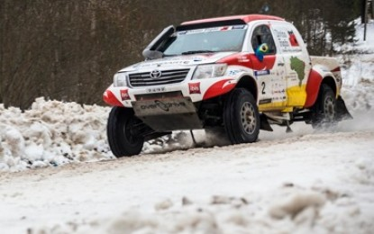 3 Toyota Hiluxes for Baja Russia Northern Forest '15
