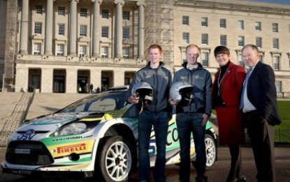 Where can spectators view the Circuit of Ireland Rally?
