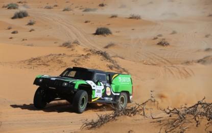 Yazeed Al-Rajhi secures 4th Ha'il Nissan International Rally