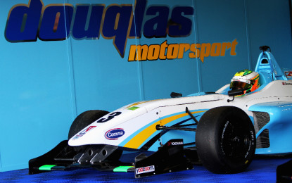 Rabindra signs for Douglas Motorsport in 2015 BRDC F4 Championship