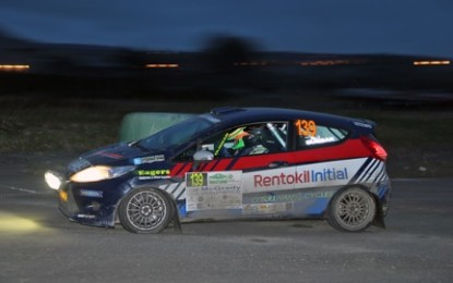 Duggan delivers on the Circuit (Carryduff Forklift R2 Wales)