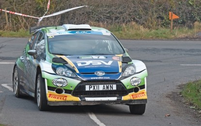 Sam Moffett leads Irish Tarmac Rally Series after 3 Rds