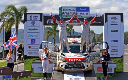 Kris Meeke wins his first World Championship round