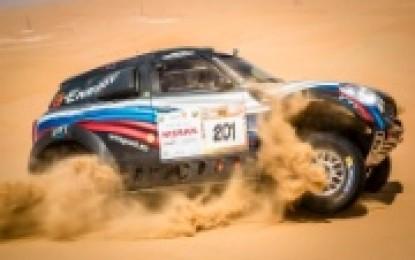 Mixed feelings for MINI at Abu Dhabi Desert Challenge