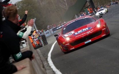 Eastwood/Carroll win breathless British GT opener at Oulton