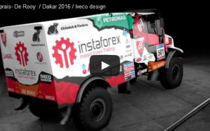 INSTAFOREX Loprais teams up with DeRooy for Dakar 2016