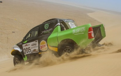 Defending Pharoans Rally champion Al-Rajhi keen for repeat performance