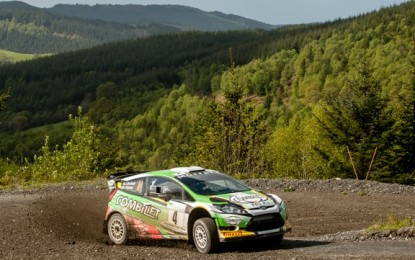Irish Rally crews shine abroad