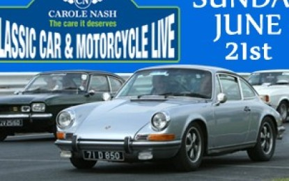 Carole Nash Classic Live 2015 for Classic vehicle enthusiasts