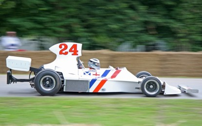 James Hunt's Hesketh F1 Car at Festival of Speed