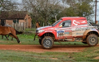 Guarani & Toyota Hilux have all the luck in Paraguay!