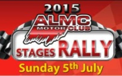 ALMC Motor Club Stages Rally 2015