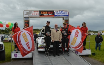 Desi Tops Points on Ulster Rally as McGarrity Tops the Tables!