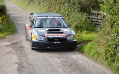 Kelly leads as Jennings charges after Day 1 of Ulster Rally