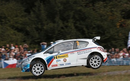 WRC2 – Craig Breen hit by misfortune again in Zlin