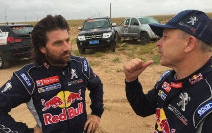 1-2 finish for Team Peugeot Total in China Silk Road Rally