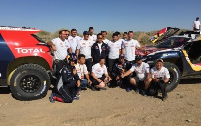 China Silk Road Rally 2015 – SS7