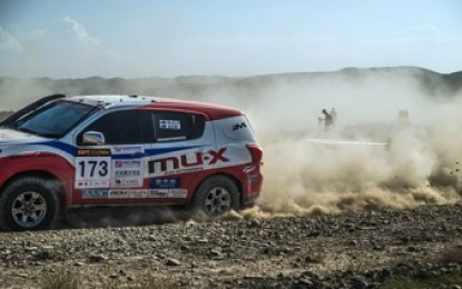 China Silk Road Rally 2015 – August 26-September 11, 2015  Stage 3: CANCELLED Alxa Zuoqi – Alxa Zuoqi, 157.98km
