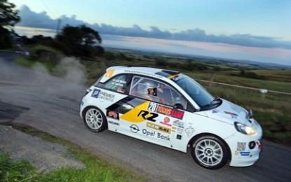 Devine Awarded Dream Wales Rally GB Drive