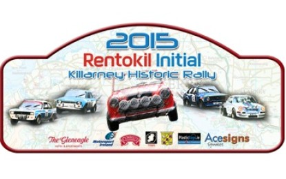 Rentokil Initial Killarney Historic Stages Rally 2015