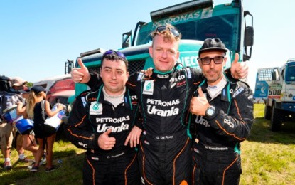 Team Petronas De Rooy Iveco triumphs in 2016 Dakar Rally
