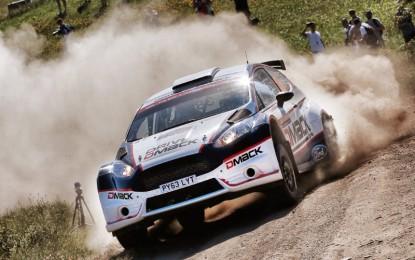 Evans & Vatanen Back in British Rallying with DMACK