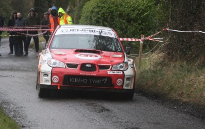 Maiden Galway win for Jennings as Cronin leads Irish Tarmac Championship
