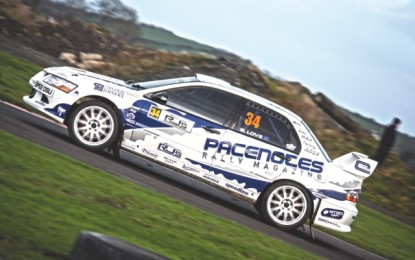 Derek McGarrity Heads Entry for Pacenotes Rally Stages
