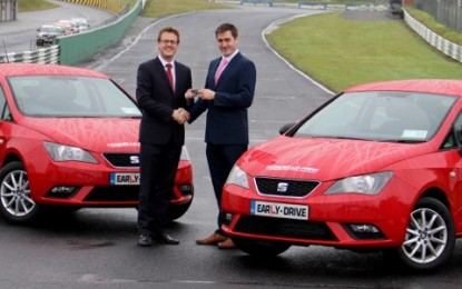 SEAT continues its support for Early Drive Programme at Mondello