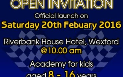 Wexford Motor Club Launches Youth Academy