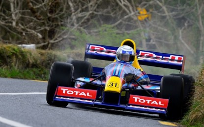 Naylor Engineering renew links with Hillclimb & Sprint Championship
