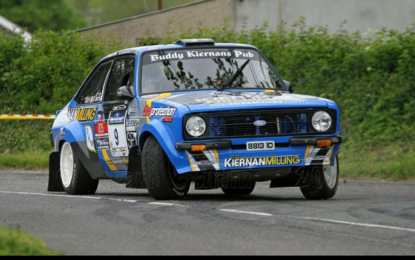 Kiernan gains Young Rally Driver of the Year nomination