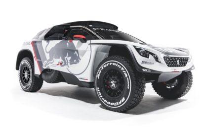 Team Peugeot Total & Red Bull reveal new PEUGEOT 3008 DKR