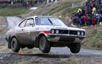 Jimmy McRae to feature in Wales Rally GB