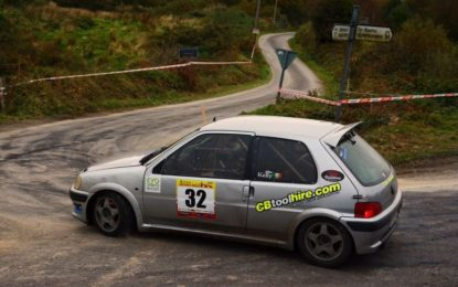 Eric Calnan has been nominated Motorsport Ireland Billy Coleman Young Rally Driver Award