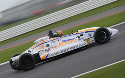Murray's double win seals Northern Ireland Formula Ford 1600 title in Kirkistown