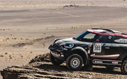 Dakar 2017:SS11 – Terranova gains time for MINI ALL4 Racing