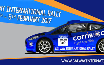 2017 Corrib Oil Galway International Rally gets into gear!